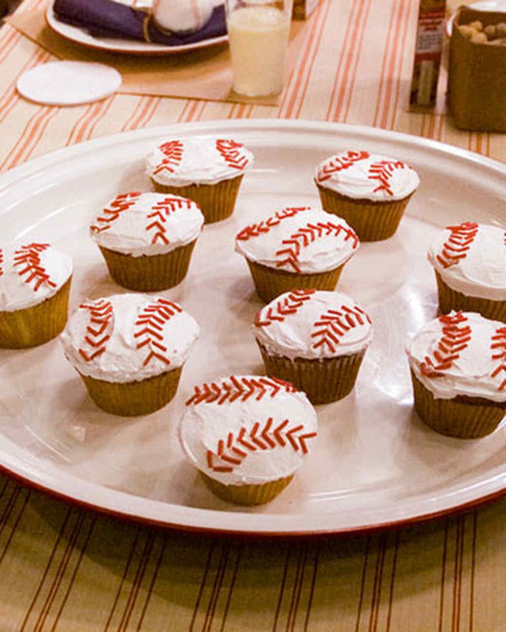 Grand Slam Cupcakes