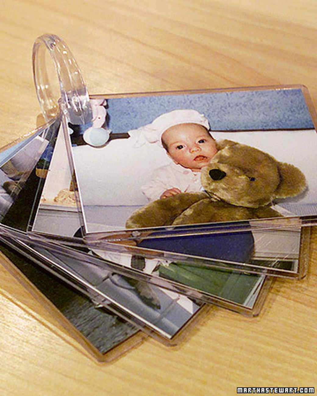 Baby Photo Album Ring