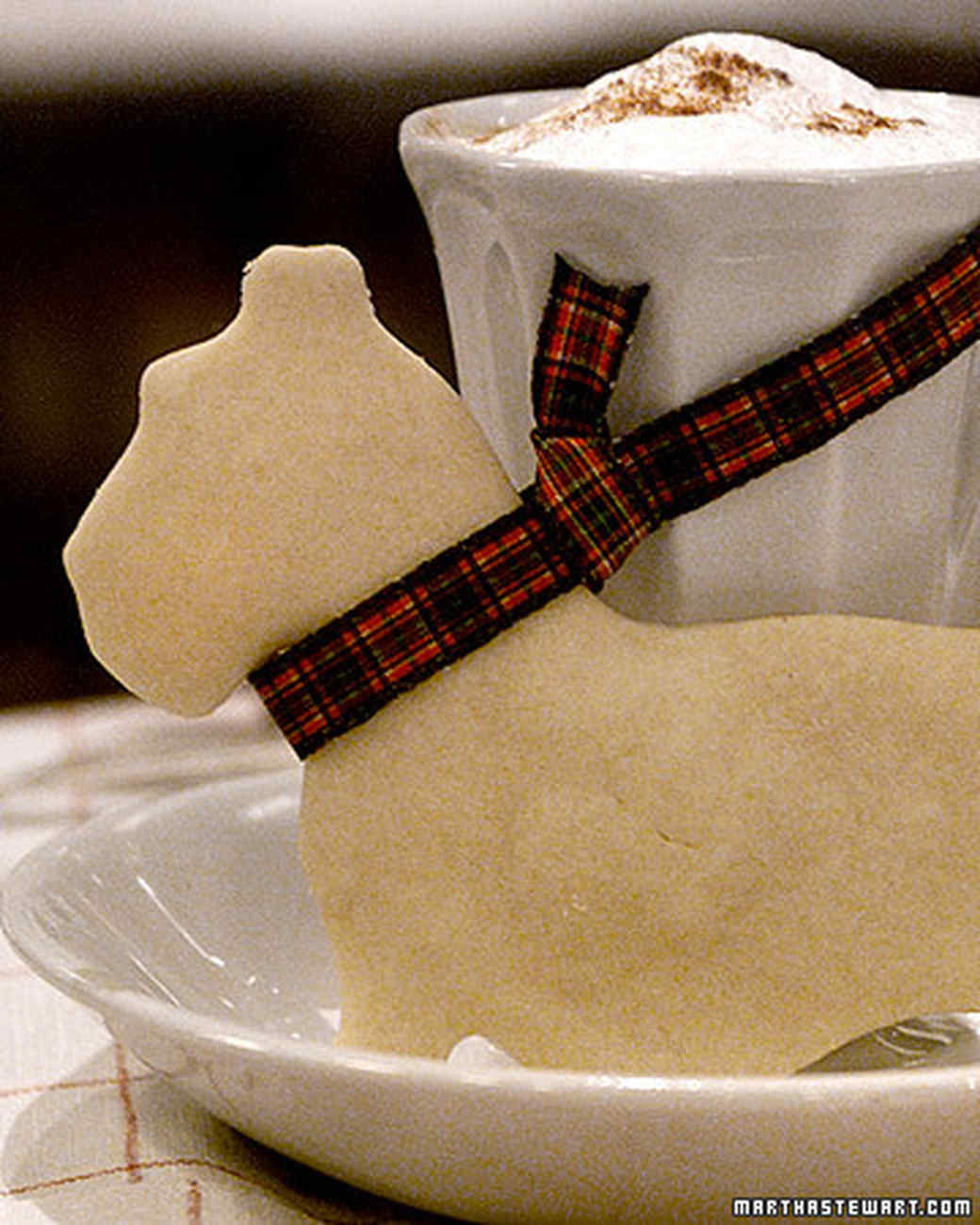 Scottie Dog Shortbread Cookies