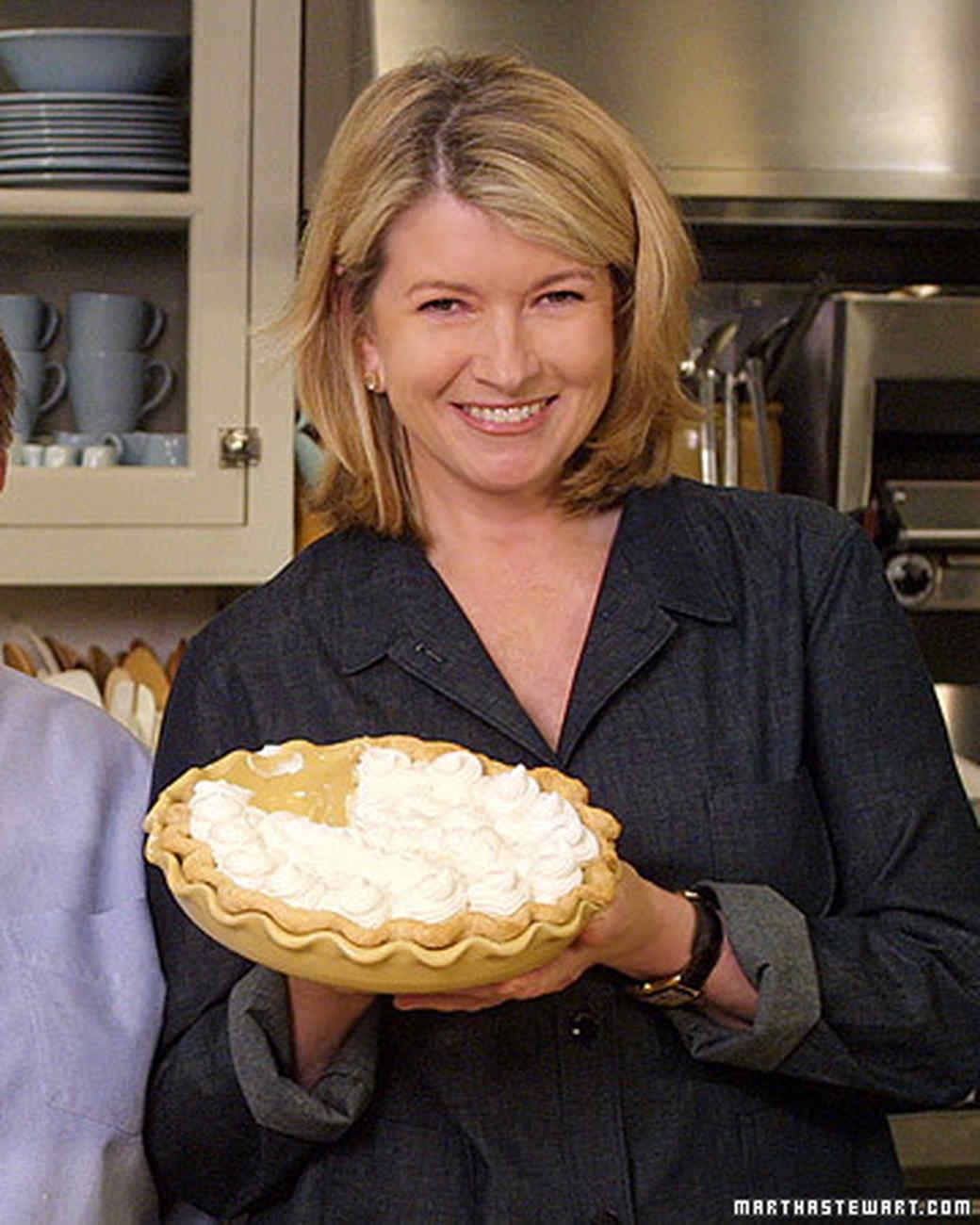 Martha Stewart: Banana Cream Pie, Recipe From