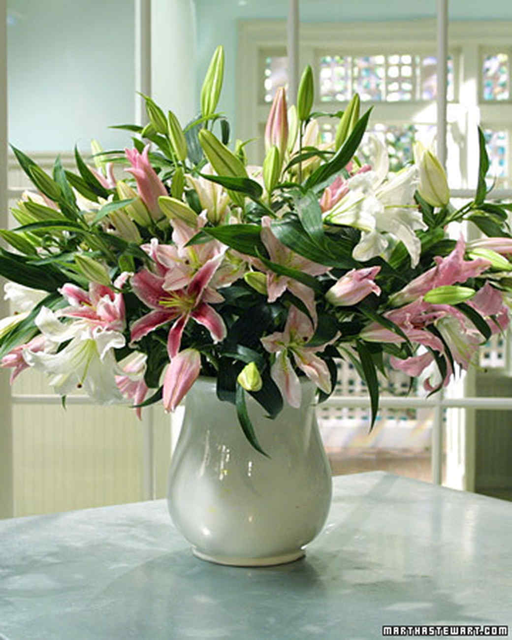 Lily Arrangement Martha Stewart