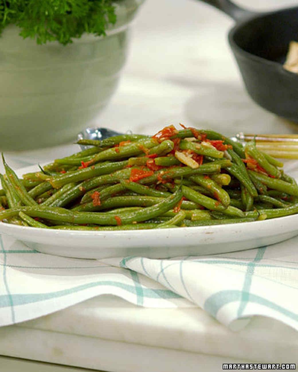 Neapolitan String Beans