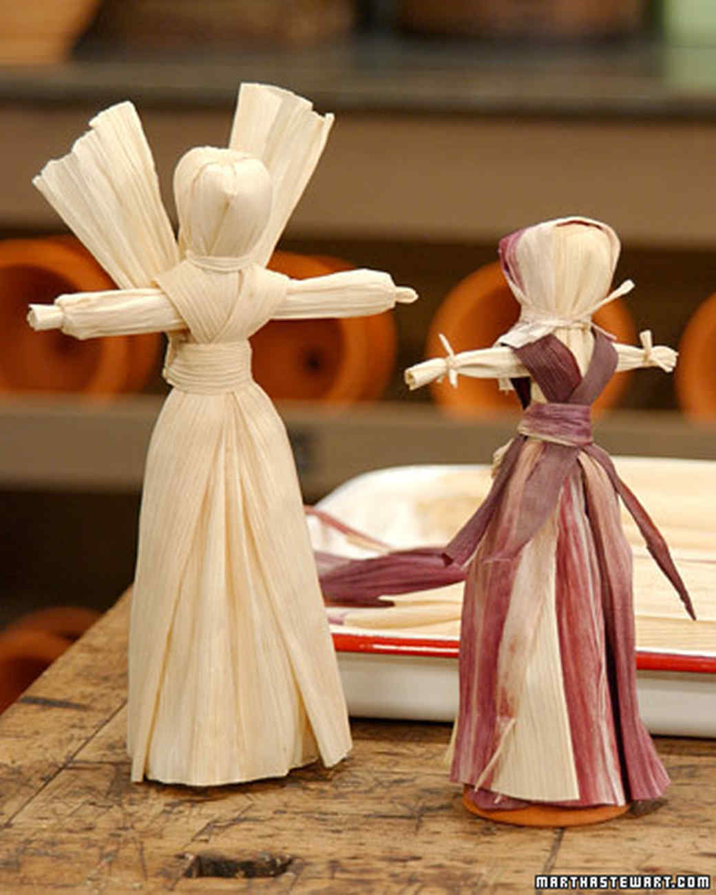 Cornhusk Dolls Martha Stewart