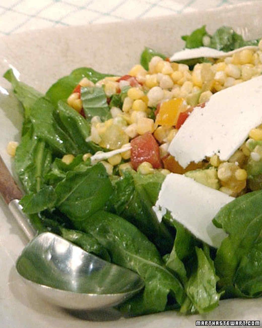 Corn, Tomato, and Avocado Salad
