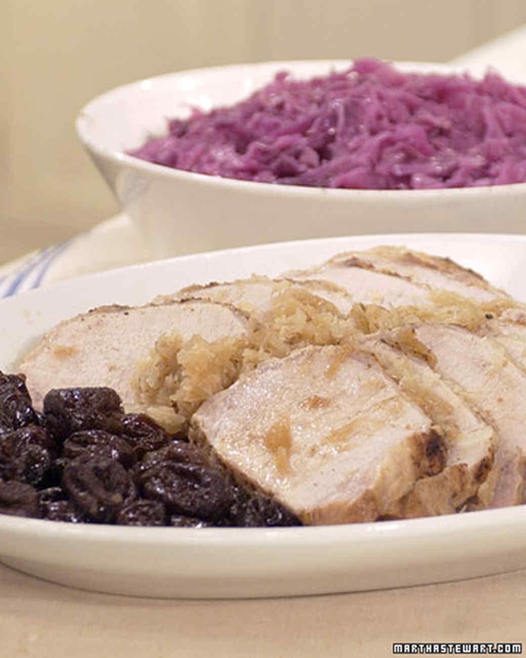 Roast Loin of Pork with Mrs. Kostyra