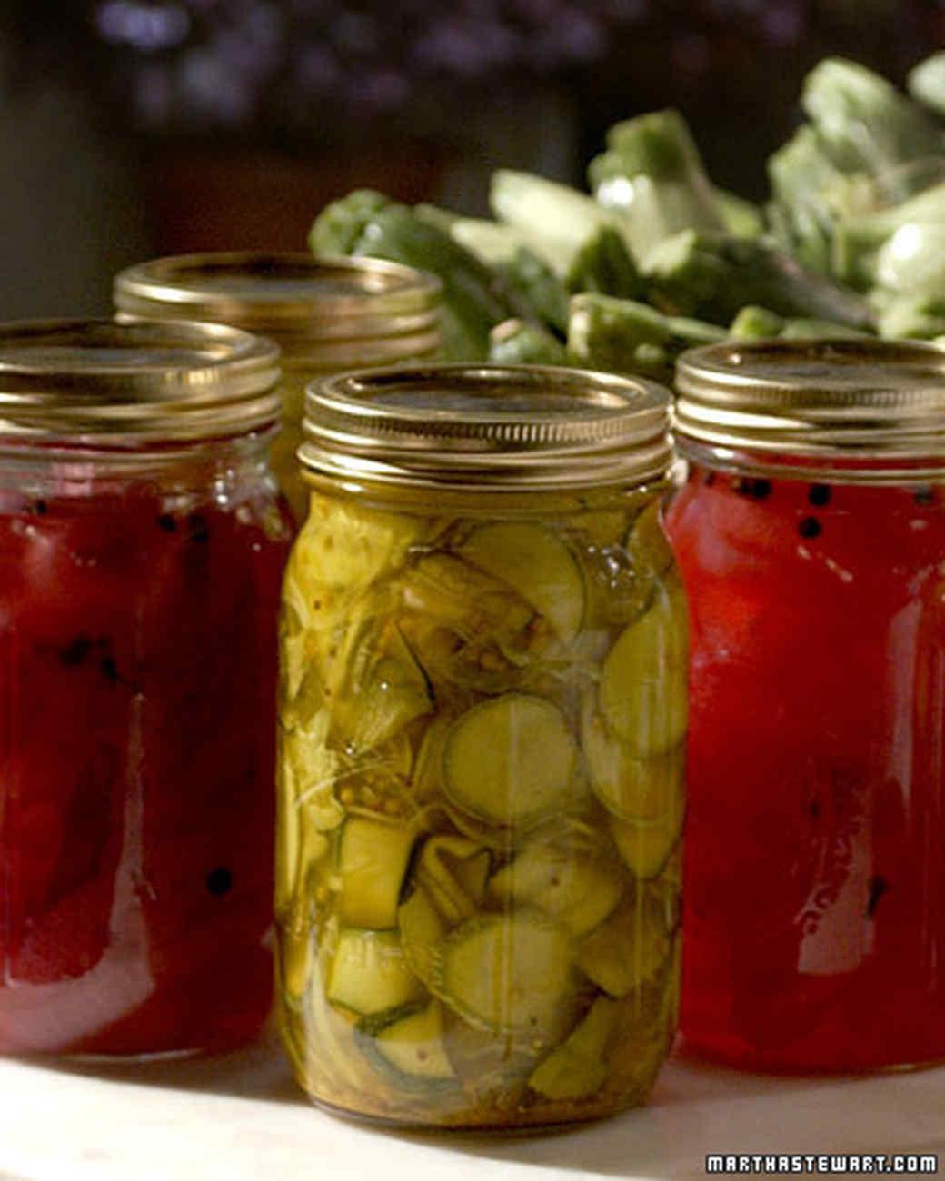 Judy's Zucchini Pickles
