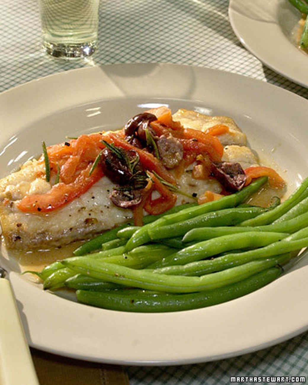 Red Snapper with Rosemary