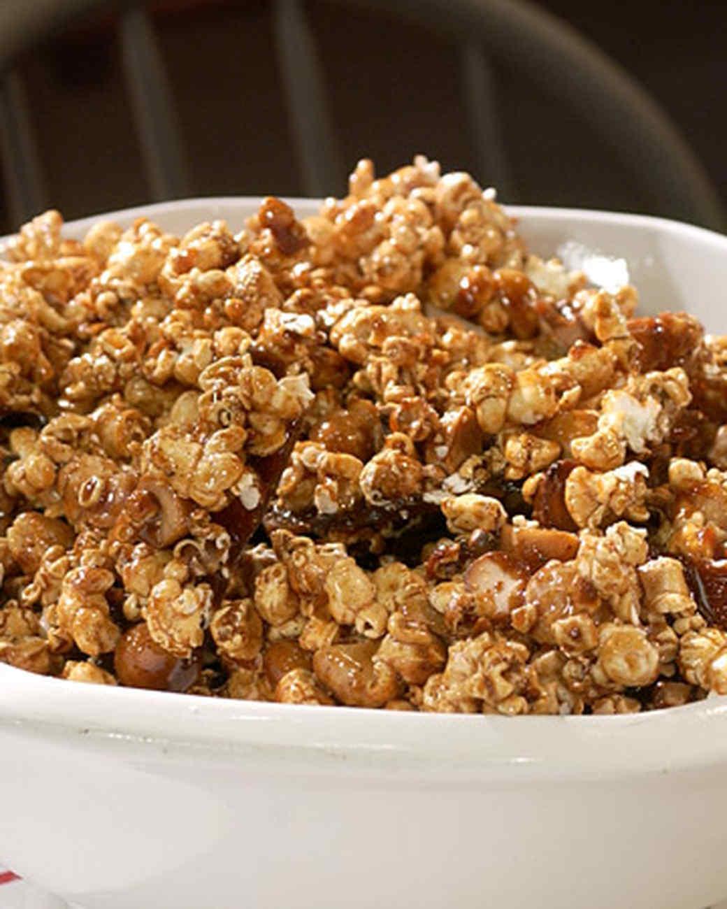 Spiced Caramel Corn