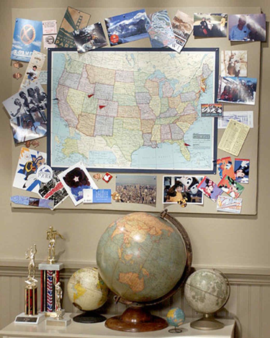 Map Memory Board