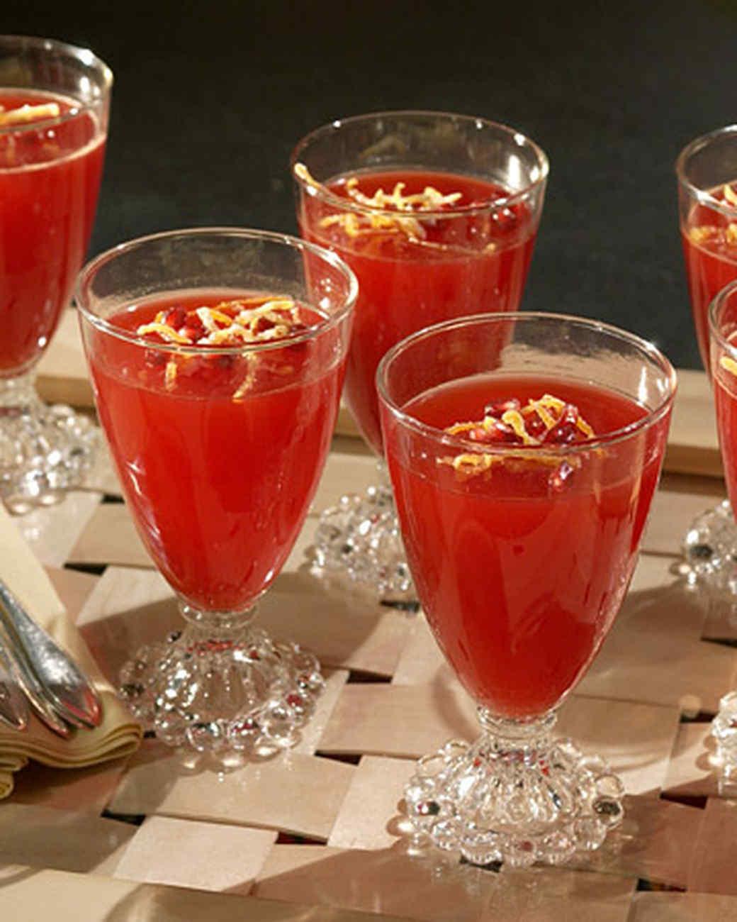 Blood Orange Gelatin