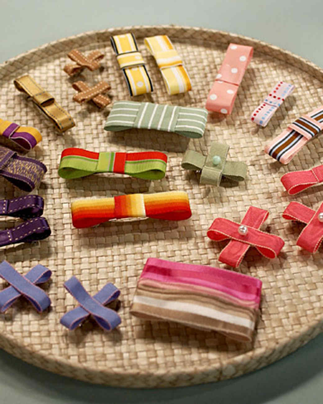 Ribbon Barrettes