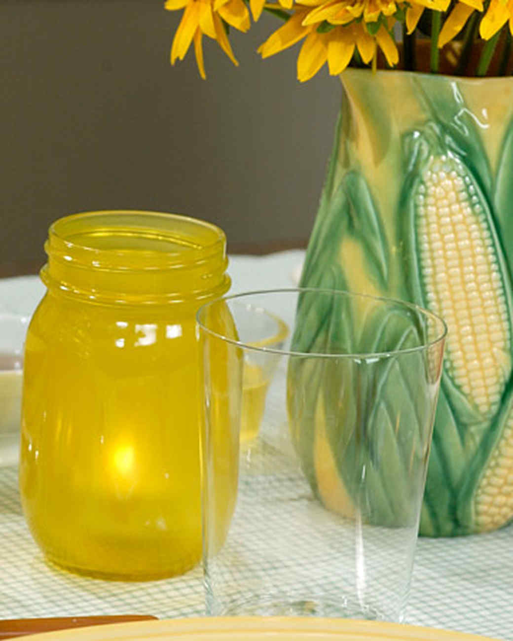 Yellow Votives Martha Stewart