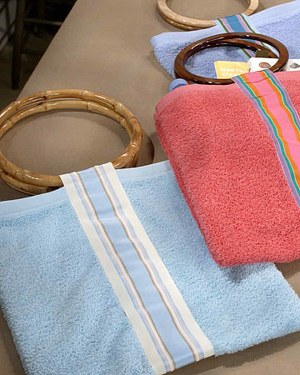 Hand-Towel Beach Bag
