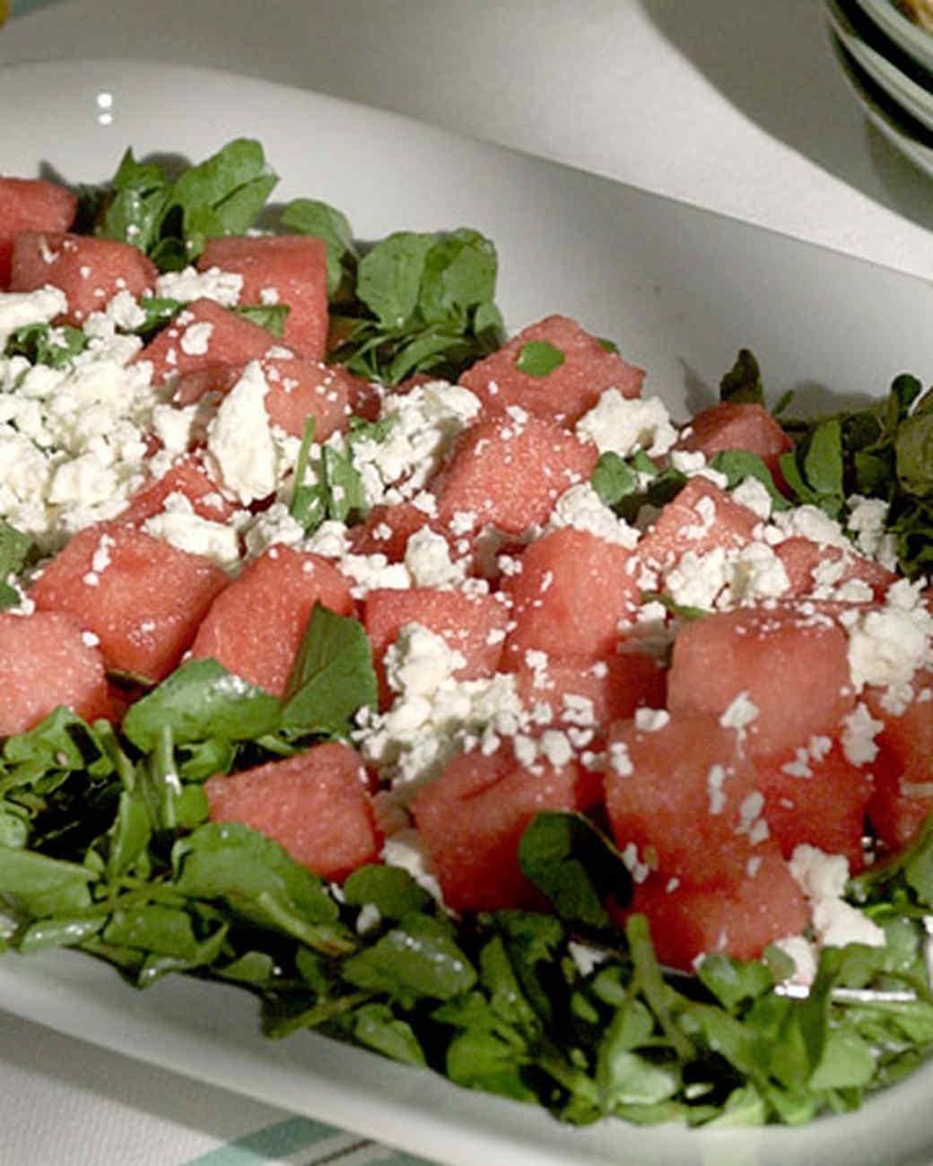 Melon and Cress Salad