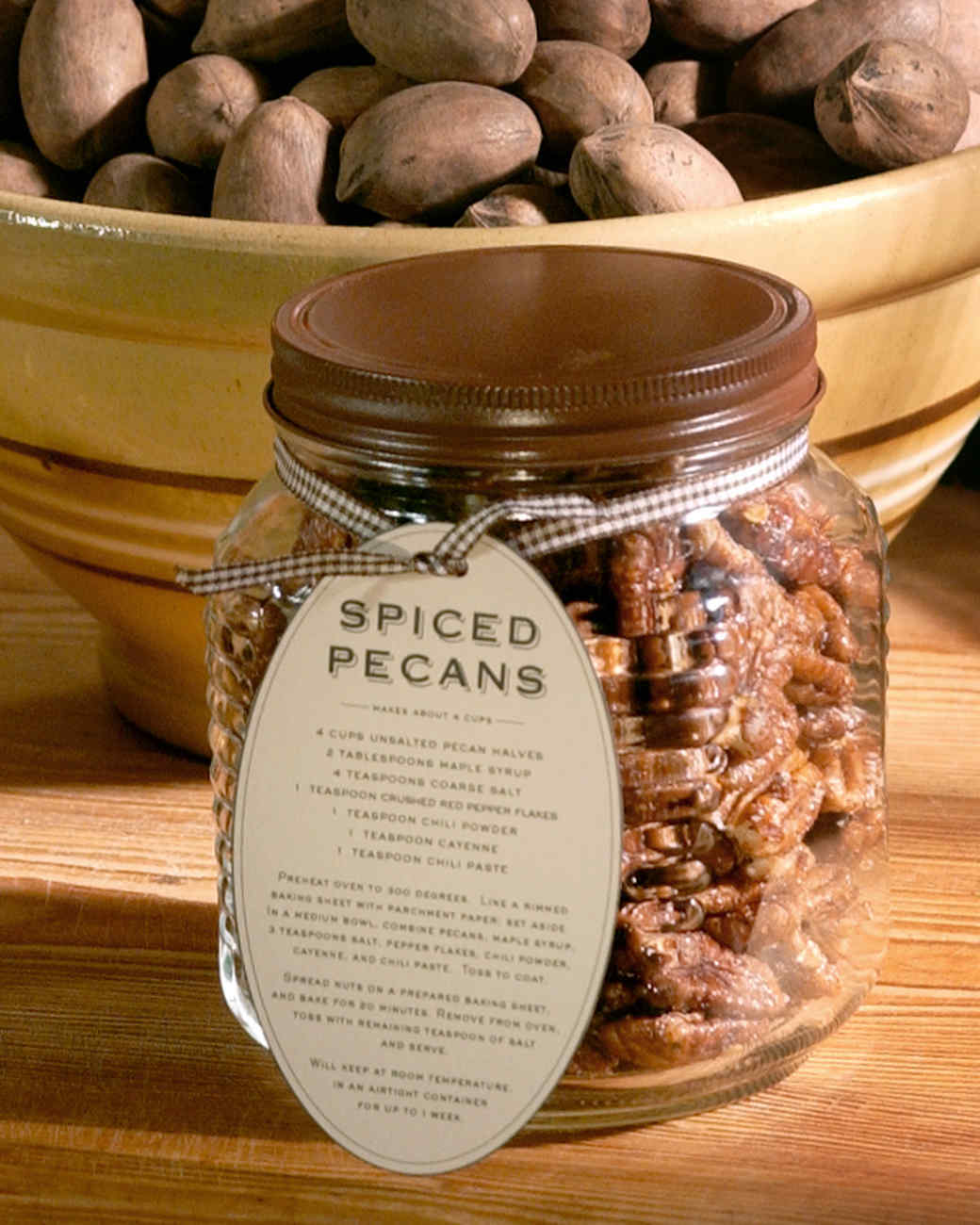 Spiced Pecan Hostess Gift