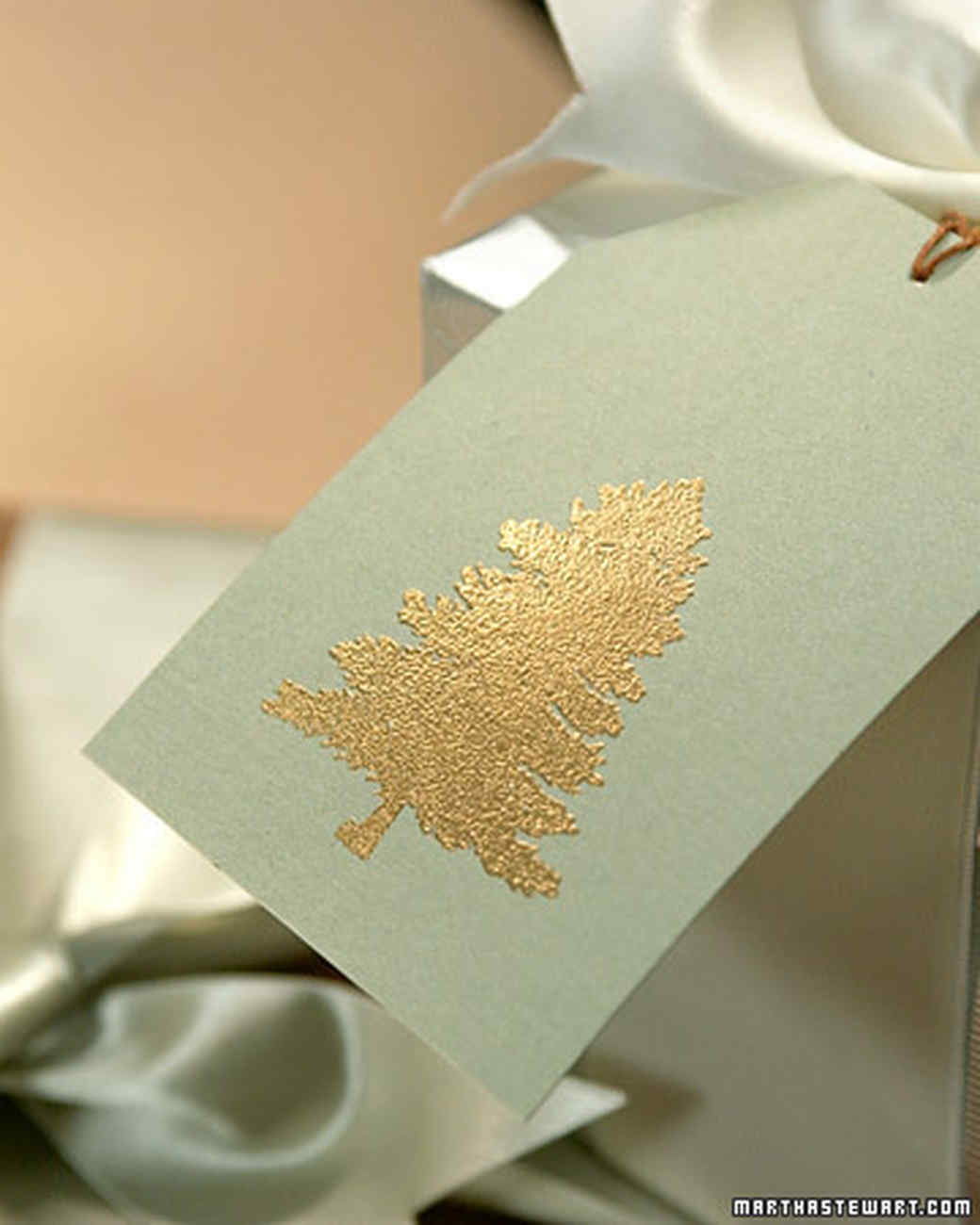 Embossed Gift Tags and Cards