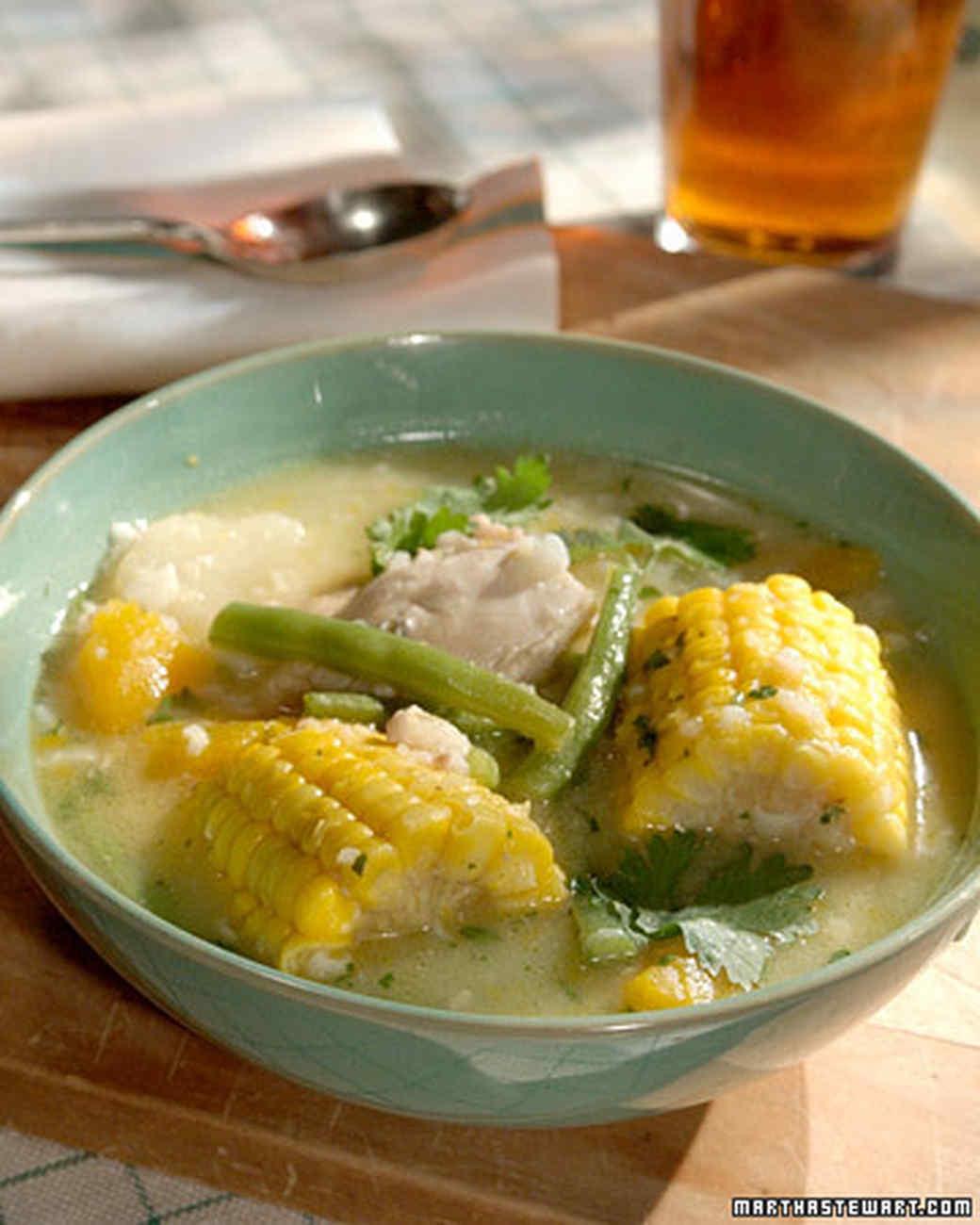 Chilean Chicken Stew
