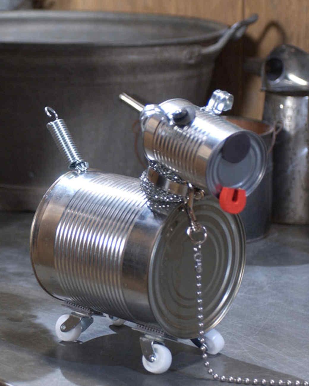 Tin-Can Dog Robot