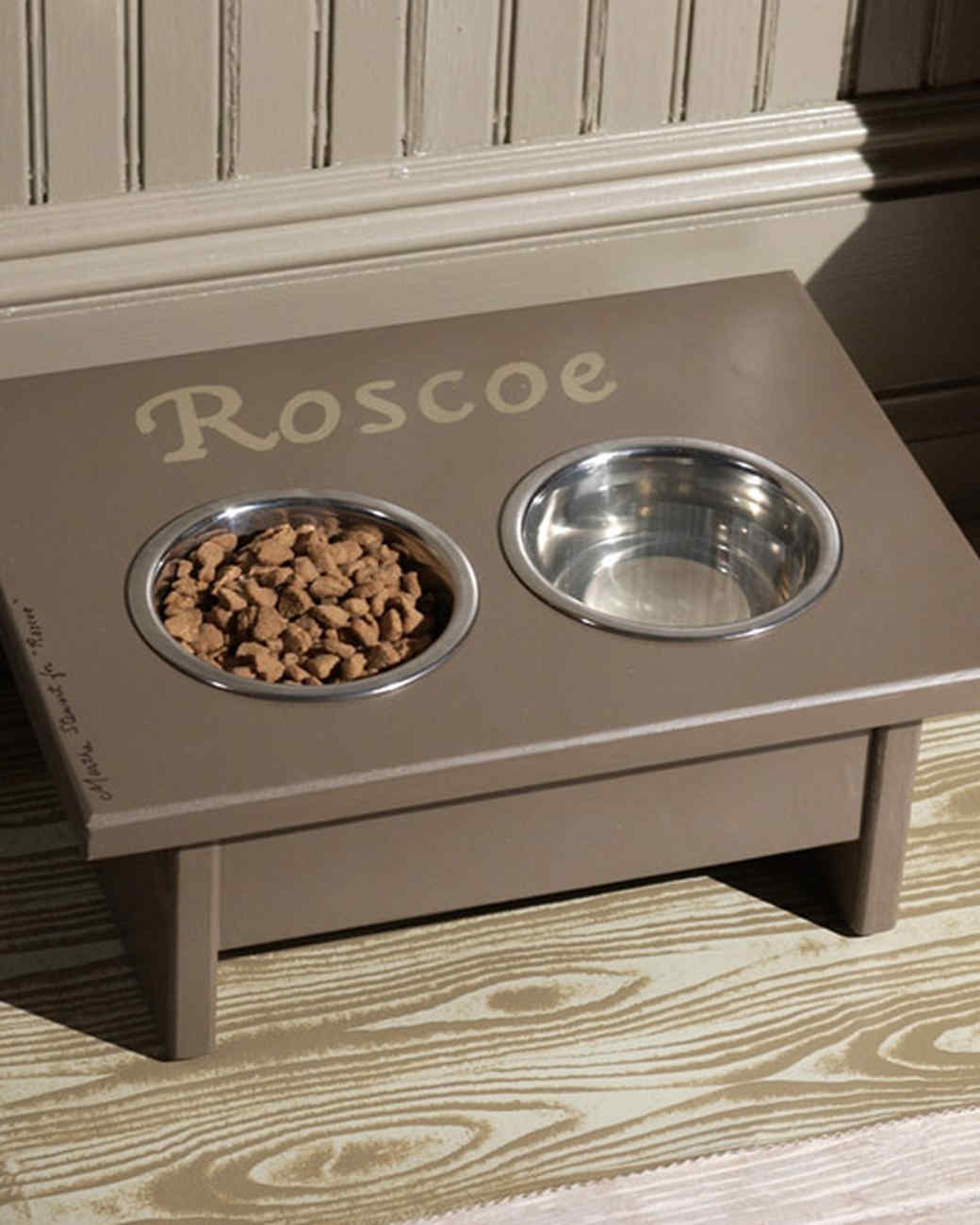 Dog Dining Station