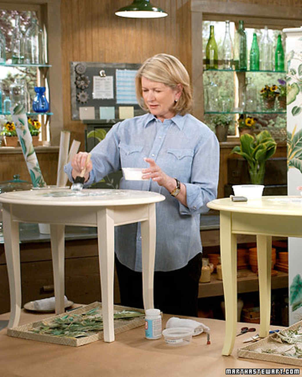 Botanical Decoupage Martha Stewart