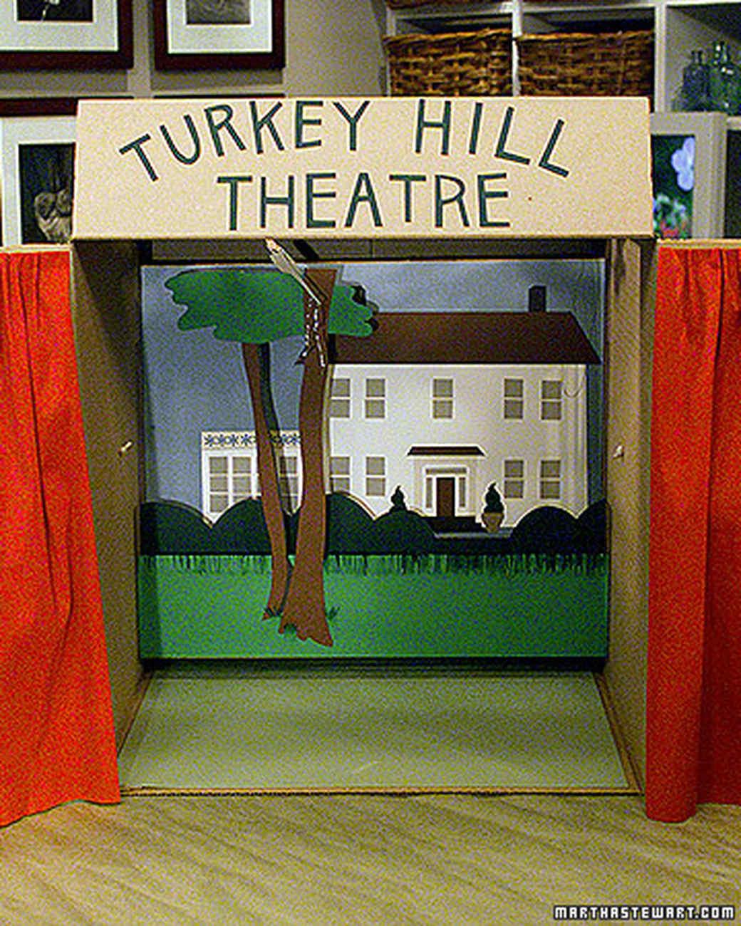 puppet theatre | martha stewart