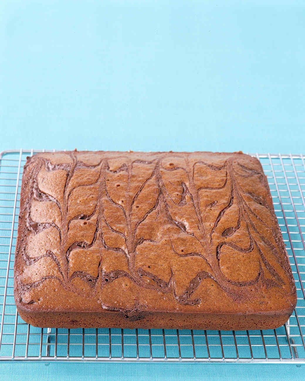 Chocolate-Swirl Gingerbread