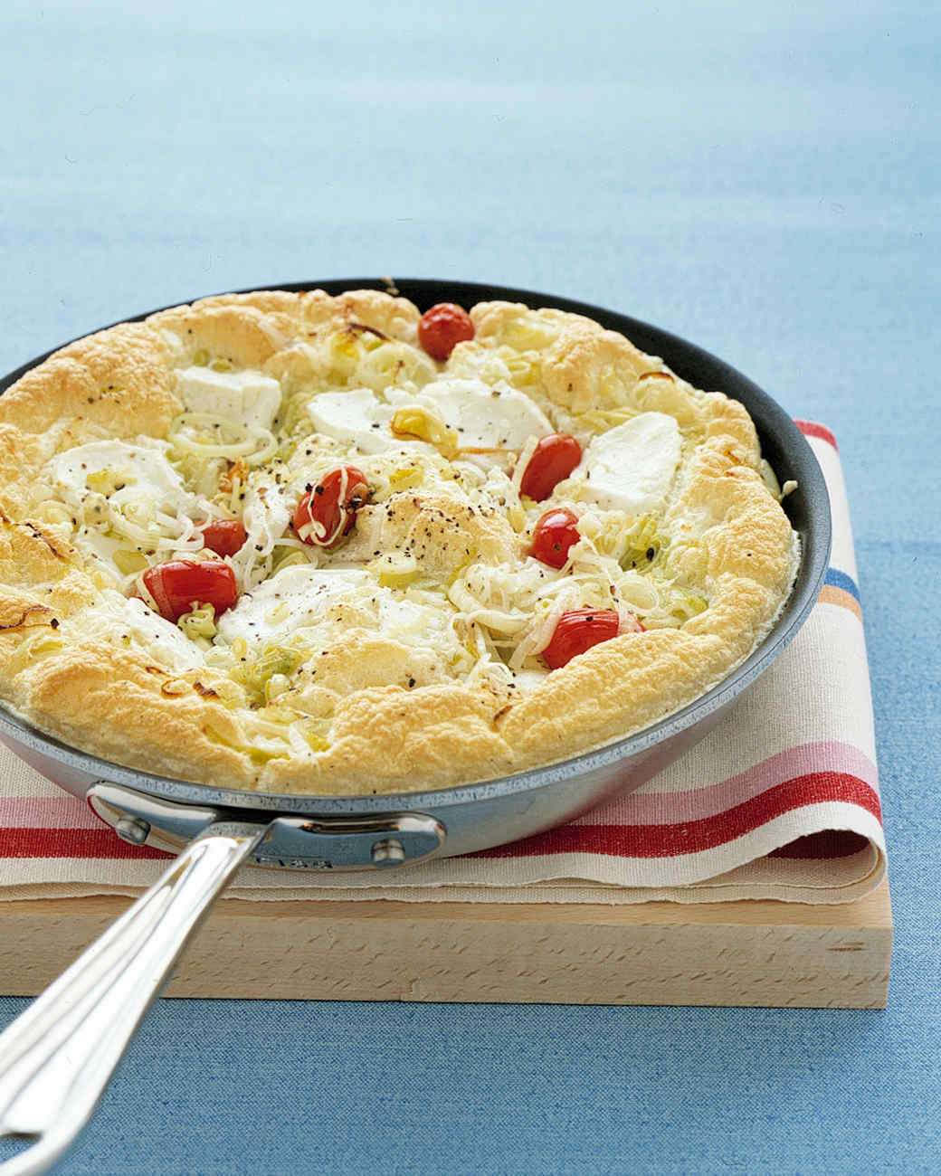 Tomato and Leek Frittata