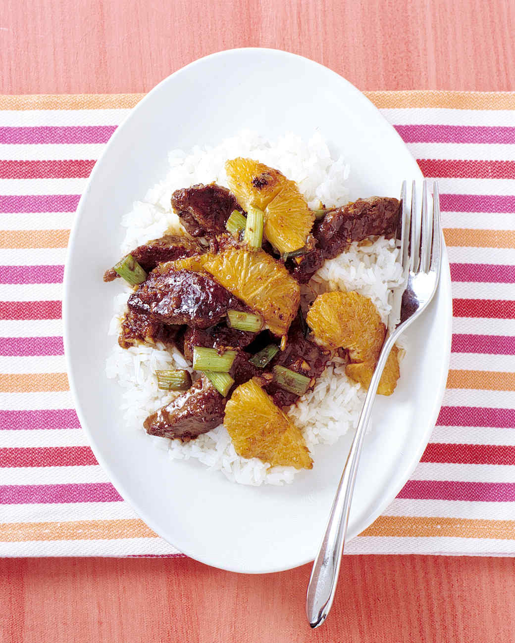 Beef and Orange Stir-Fry