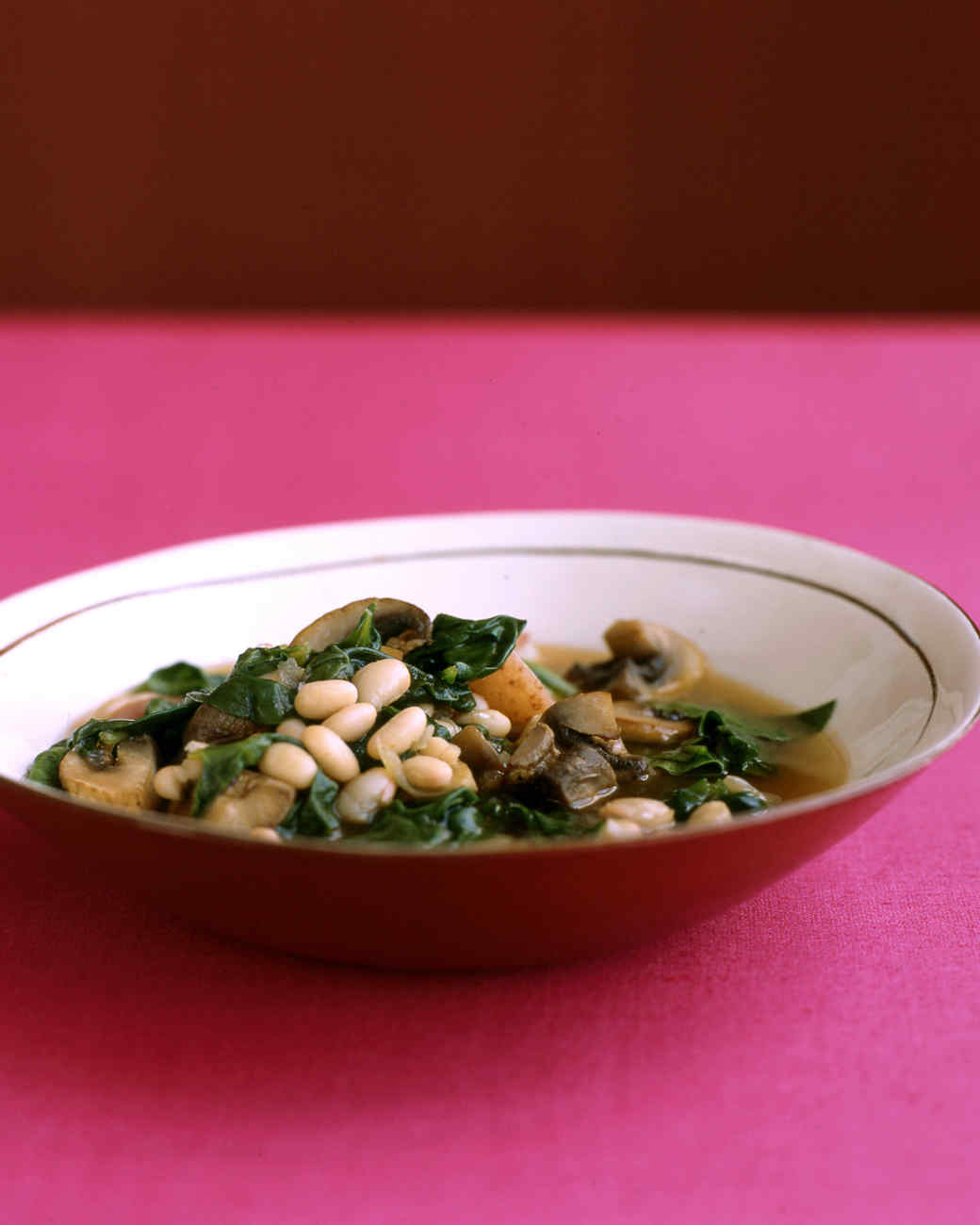 Quick Vegetable and Navy-Bean Stew