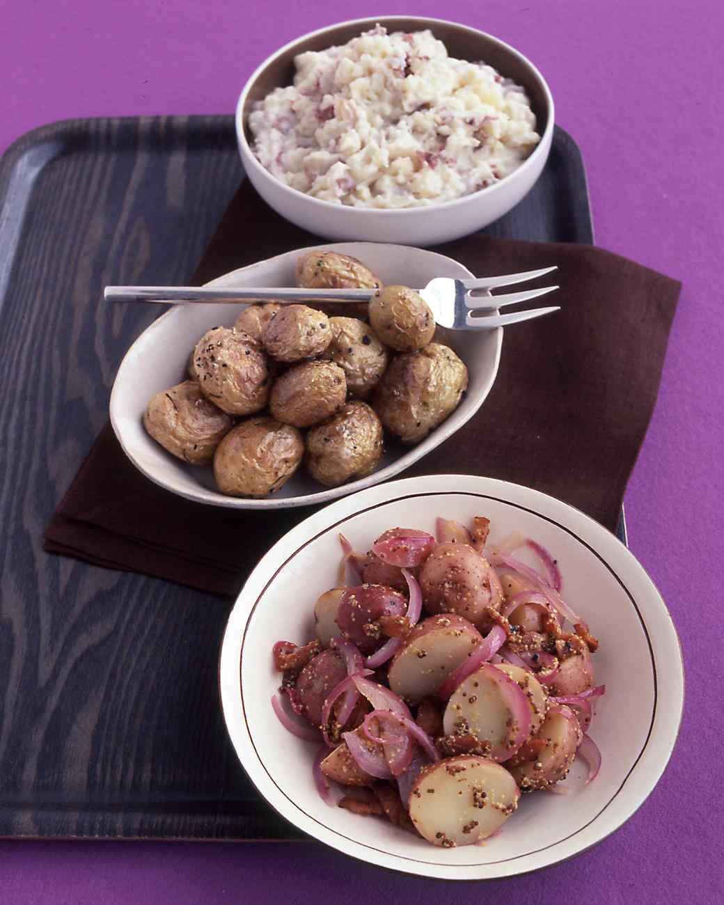 Warm German Potato Salad