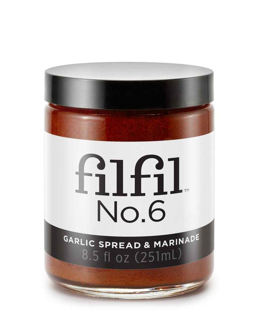 Filfil Foods garlic spread