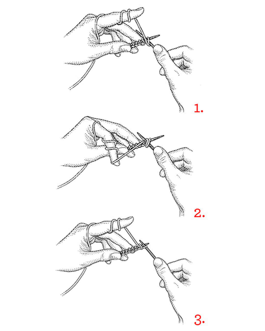 How to knit 69