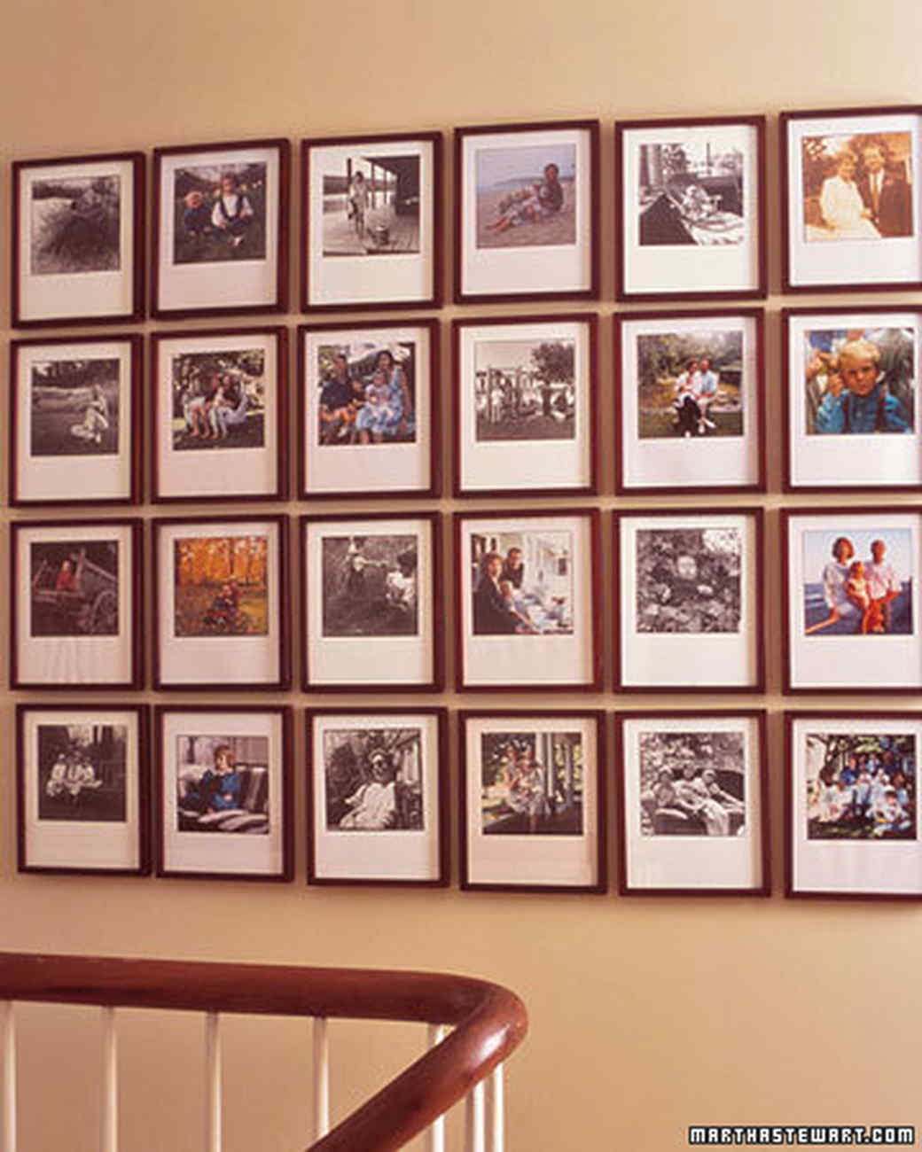 Memory Keeping Arranging Photographs Martha Stewart