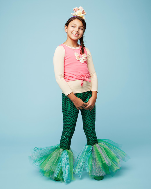 mermaid halloween kids costume