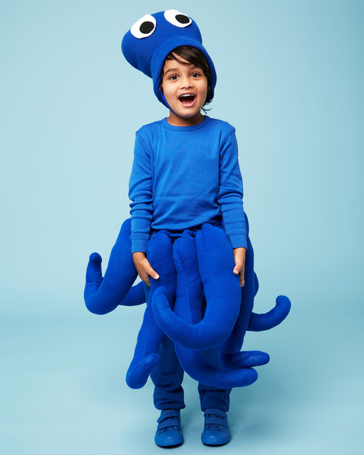 octopus halloween kids costume