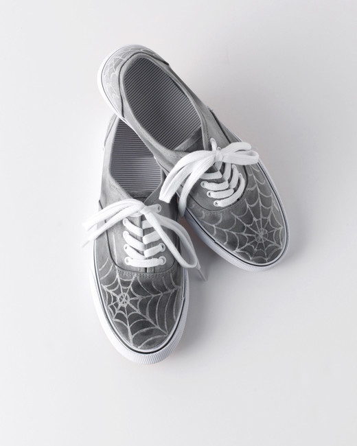 spiderweb shoes