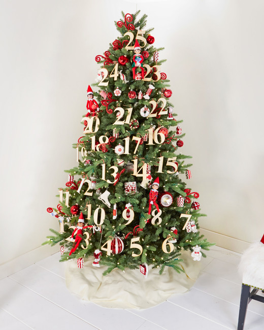 Christmas Tree Simple Decorating Ideas: 25 Creative Christmas Tree Decorating Ideas