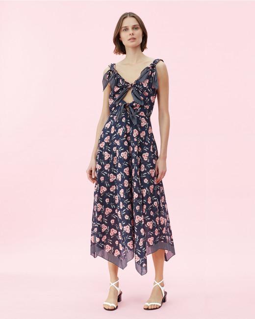 Scarf floral Print Dress