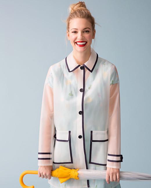 translucent raincoat