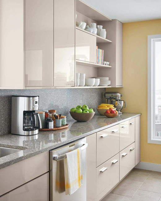 Ordinaire Modern: Martha Stewart Living Lacombe Avenue High Gloss Kitchen