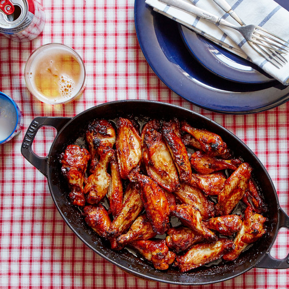 Teriyaki chicken wings, one of the Martha & Marley Spoon's Super Bowl recipes