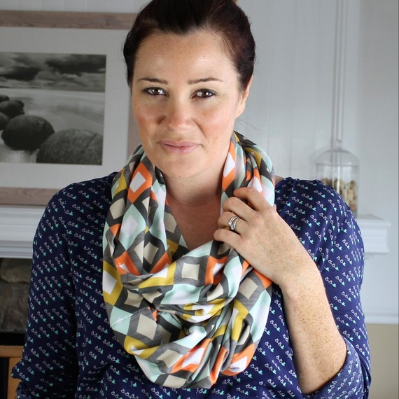 Infinity Scarf: A Simple Sewing Project for Beginners | Martha Stewart