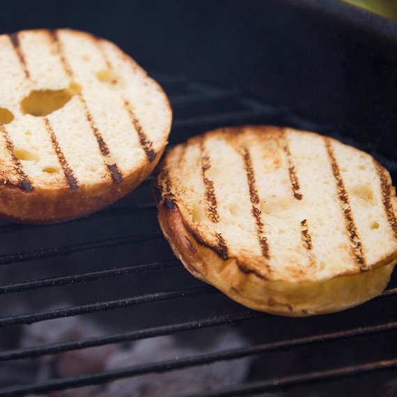 Our Favorite New Grilling Hack: Perfectly Toasted Buns on the Grill!