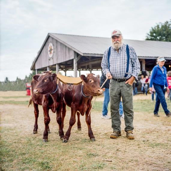 man with calves