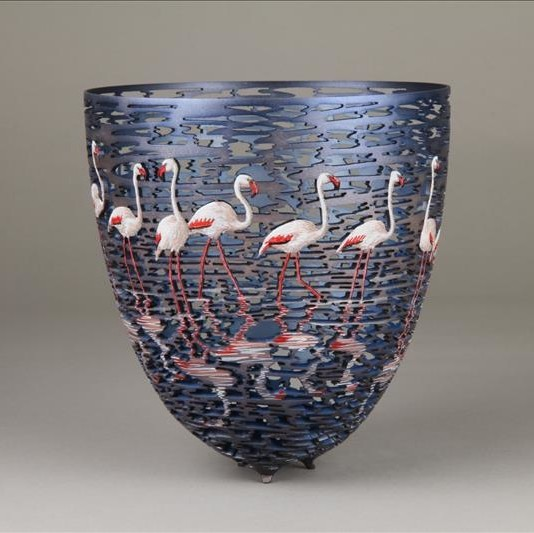 Bird Bowl by Gordon Pembridge