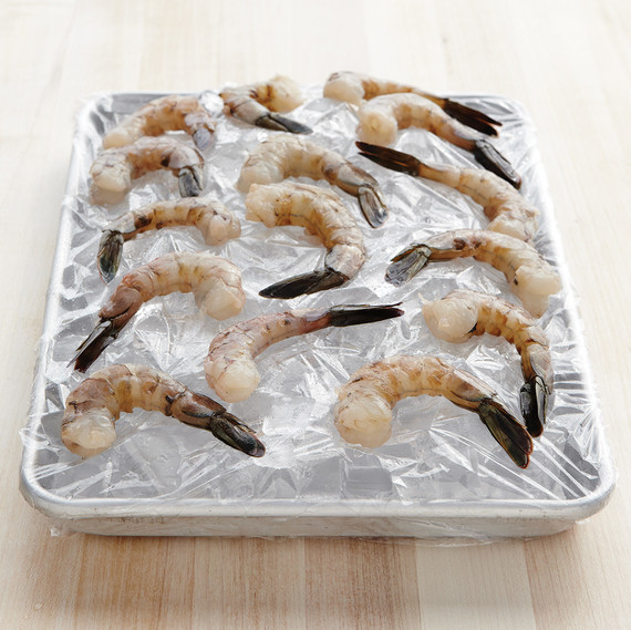 shrimp on ice