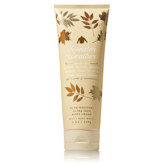 bath and body works sweater weather fall lotion