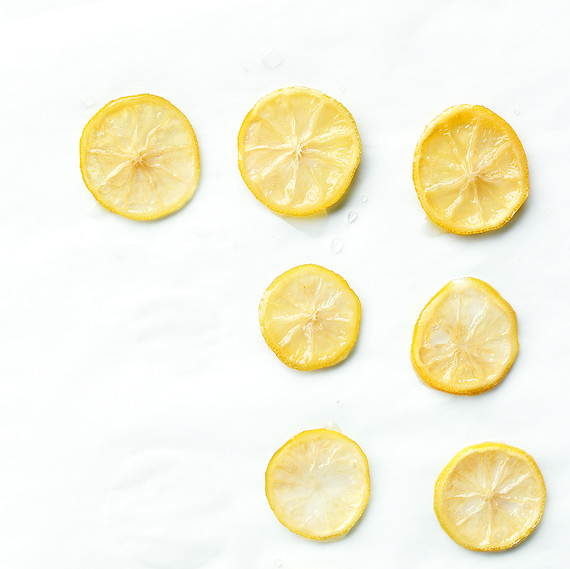 candied lemon slices