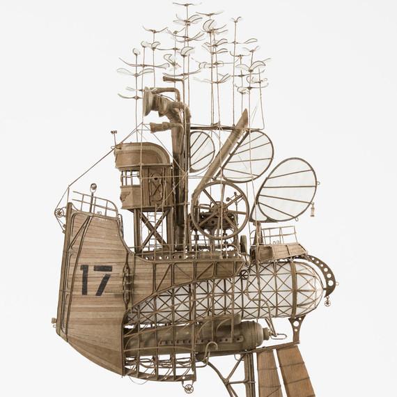 Airship by Jeroen van Kesteren