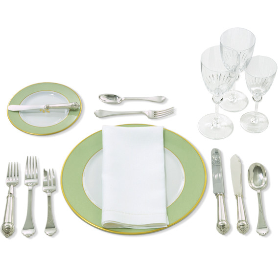 The Formal Table Setting  sc 1 st  Martha Stewart : setting table napkin placement - pezcame.com